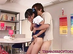 Japanese legal teen lady friend cocksucking bf fuck tool