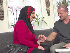 appreciative luxurious muslim gets fucked