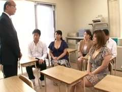 Japanese 3 Knockers Moms Play Son(Yukari Orihara)