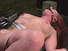 glamorous babe gets dominated bdsm vid 2