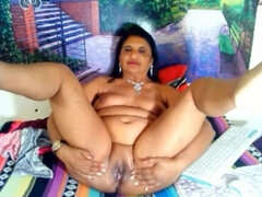 indian granny shows me her old cunt