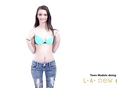 Legal teen GIRL NOT HAPPY AT PHOTOSHOOT CASTING AUDITION