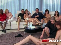 Inviting swinger chicks in reality show.