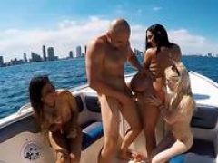 Collee 18-19 year old girls in bikini hot groupsex on speedboat