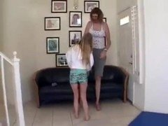 Tall Kat vs Small Babe 1