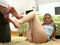 guy licks babes feet with passion movie