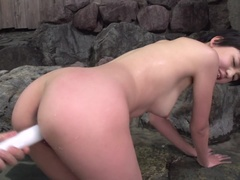 Dazzling Sakura Aida is getting cumshot