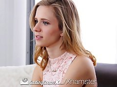 CastingCouch-X - Behold Rachel James number one pornography audition