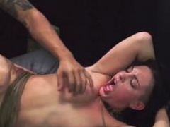 Brutal spit & bondage at work Poor Rachael Madori