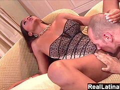 RealLatinaExposed - super-hot Latina likes to drain a huge hard cock