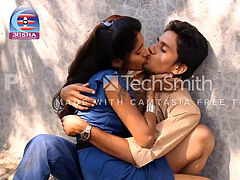 Indian teen sweetheart Hot smooching