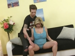 Taboo home sex with super sexy mother
