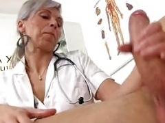 CFNM hospital adult entertainment with an Euro milf Beate