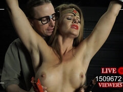 Broken Amber Cosplay BDSM porn video