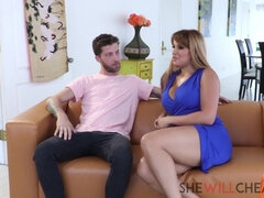 Busty Mom Mercedes Carrera Cheated On Cougar Takes
