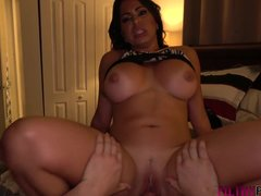 Stepson hides the Latina from husband and fucks her