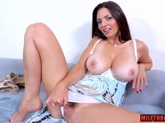 Big boobs housewife lovemaking and ejaculation