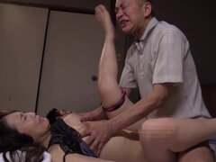 Young and old Japanese gus swapped each other's GFs to fuck