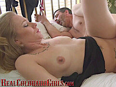 super-hot light-haired MILF Cums Hard On My chisel